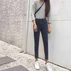 Kojasmine - Skinny Cropped Jeans
