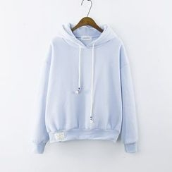 Serenite - Hooded Drawstring Pullover