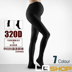 LA SHOP - 320 Denier Maternity Tights