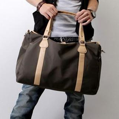 SeventyAge - Convertible Two-Tone Shoulder Bag