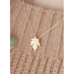 kitsch island - Leaf Necklace
