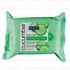 Beauty Formulas - 小黄瓜清凉保湿洁面巾