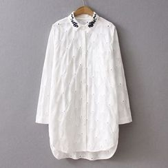 HANIA - Embroidered Long Shirt