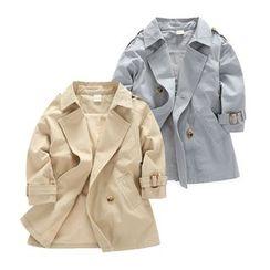 贝壳童装 - 小童双排扣风衣