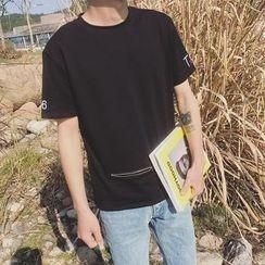 Besto - Short-Sleeve Pocketed T-Shirt