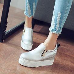 Kireina - Wedge Slip-On Sneakers