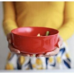 house on map - Ceramic Bowl