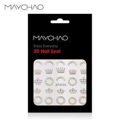 美潮 Maychao - 美甲贴 (XF6039)