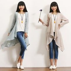 Salisha - Linen-blend Light Jacket