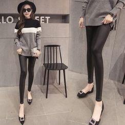 Sienne - Faux Leather Leggings