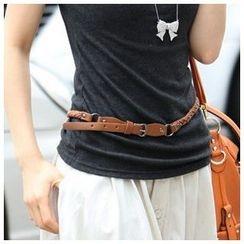 Goldenrod - 编织窄身腰带