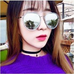 UnaHome Glasses - 圆形太阳眼镜