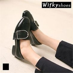 Wifky - Buckled Loafers