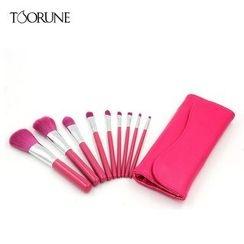 TOORUNE - 7/ 9 Make-Up Brush Set