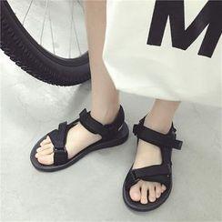 Soulcity - Velcro Strap Sandals