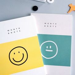 LIFE STORY - 'MONTH & NOTE' Series Diary (M)