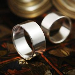 Sterlingworth - Sterling Silver Wide Band Ring