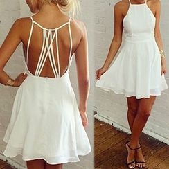 Fashion Street - Strappy A-Line Dress