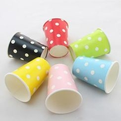 Palmy Parties - Set of 12: Disposable Printed Paper Cup