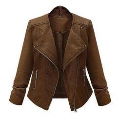 AGA - Faux Leather Jacket