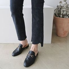 DAILY LOOK - Frey-Hem Washed Pants