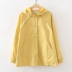 ninna nanna - Plain Hooded Jacket