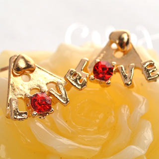 Fit-to-Kill - LOVE Earrings