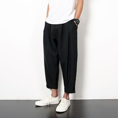 SHAN7 - Cropped Harem Pants