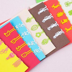 Full House - Set of 8: Metal Bookmark