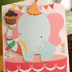 Full House - Animal Greeting Card