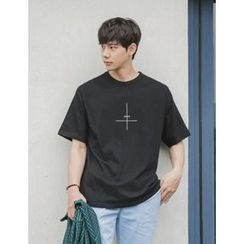 STYLEMAN - Short-Sleeve Printed T-Shirt