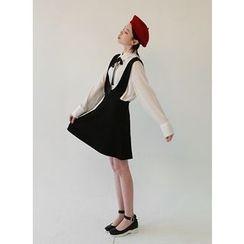 Vintage Vender - A-Line Mini Suspender Dress