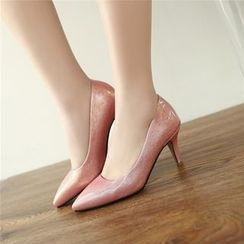 Gizmal Boots - 尖头高跟鞋