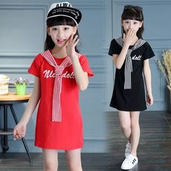 Pegasus - Kids Mock Two-Piece T-Shirt Dress