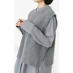 Someday, if - Wool Blend Knit Vest