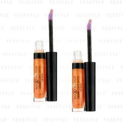 Max Factor 蜜丝佛陀 - Vibrant Curve Effect Lip Gloss - # 03 Trend-Setter (Duo Pack)