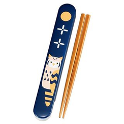 Hakoya - Hakoya 18.0 Slide Chopsticks Box Set Owl NV