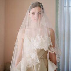 Neostar - Lace Trim Wedding Veil