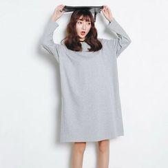 Maymaylu Dreams - Plain T-Shirt Dress