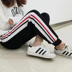 Dute - Striped Sweatpants