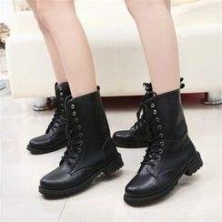 YIVIS - Military Short Boots