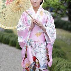 Komomo - 印花和服角色扮演服