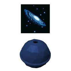 DREAMS - Projector Dome (Dark Blue / Spiral Galaxy)