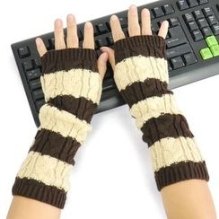 Hugababy - Striped Arm Warmers