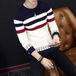 Wild Dragon - Striped Sweater