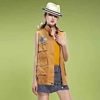 ELF SACK - Appliqué Vest