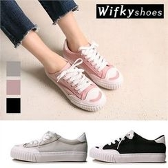Wifky - Faux-Suede Sneakers