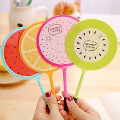 Lover's Kiss - Fruit Print Fan