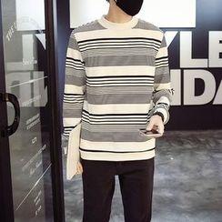 Flambeau - Striped Sweatshirt