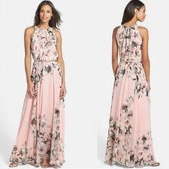 Chika - Floral Maxi Dress